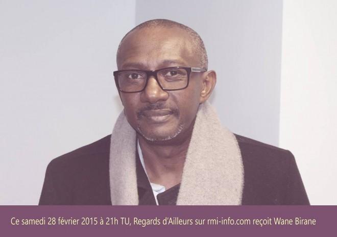 RA, 28/02/2015 : CONSEIL REPRÉSENTATIF DES MAURITANIENS DE FRANCE invité, WANE BIRANE