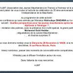 l'AJMF célèbre l'indépendance de la Mauritanie à Paris